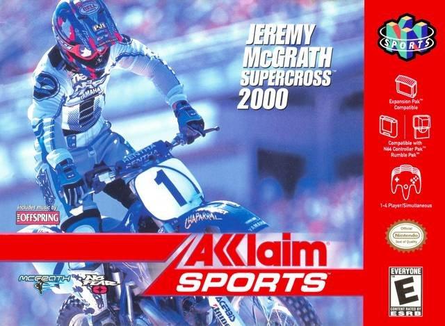 Jeremy McGrath Supercross 2000