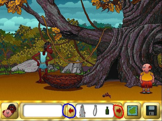 robinson crusoe spel 1999