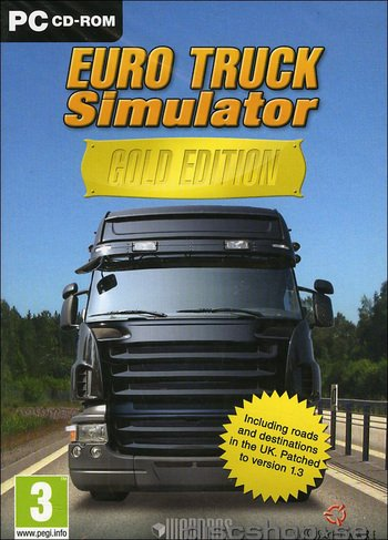 recension euro truck simulator gold edition pc fuska. Black Bedroom Furniture Sets. Home Design Ideas