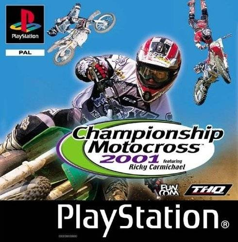championship motocross 2001 featuring ricky carmichael. Black Bedroom Furniture Sets. Home Design Ideas